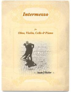 Cover of Intermezzo program showing couple dancing on cobblestones